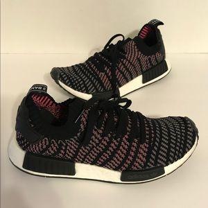 Adidas Men's NMD Prime Knit Black Solar Pink 8